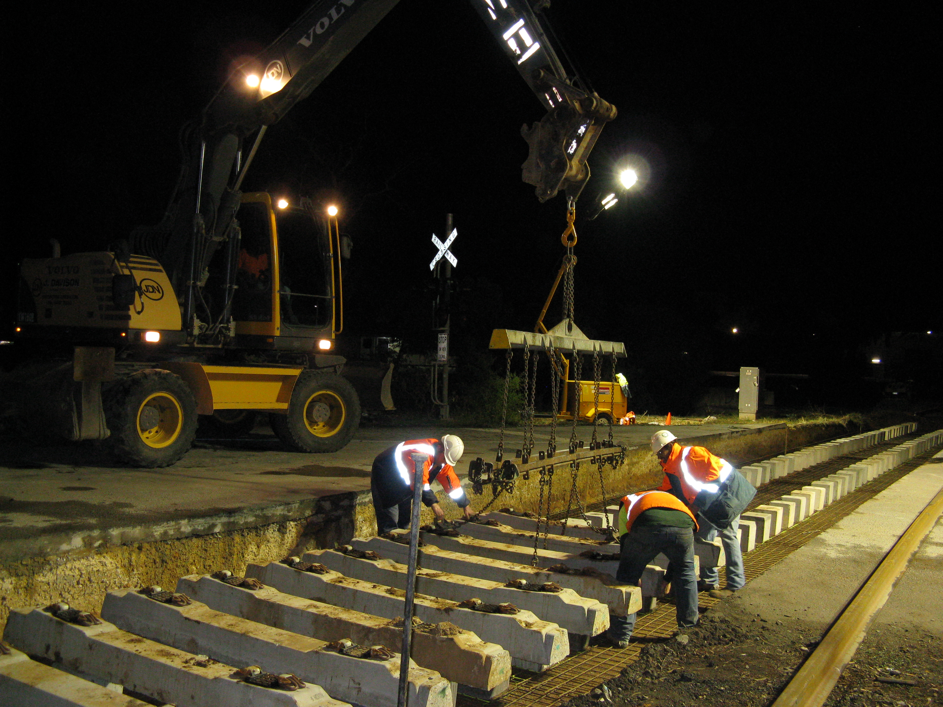 Various Rail ​Projects
