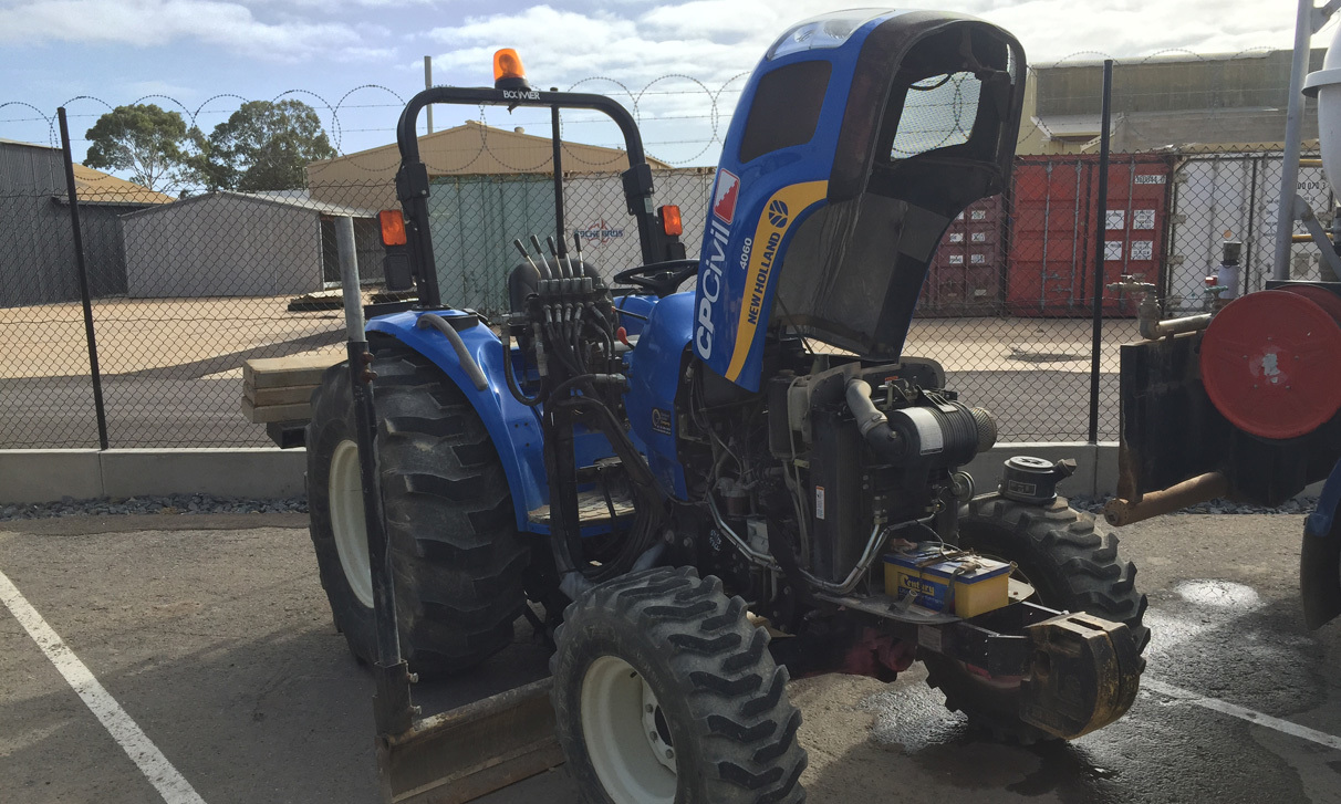 NEW HOLLAND 4060 Tractor Grader